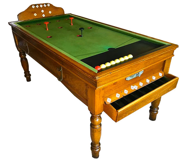 Jelks reconditioned Bar Billiard tables