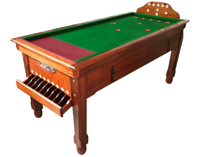 Sams reconditioned Bar Billiard tables